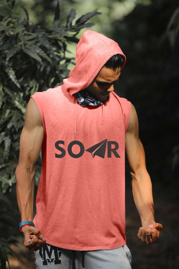 Men's ABY SOAR Sleeveless Hoodie